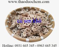 Mua bán củ sen khô tại Phú Thọ hỗ trợ điều trị lao phổi hiệu quả nhất