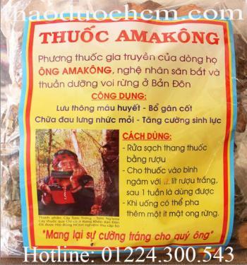 Mua bán thang thuốc amakong tại quận 3 tráng dương bổ thận tốt nhất