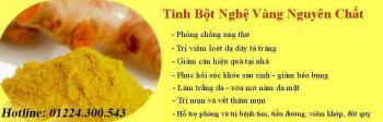 TINH BỘT NGHỆ ( bột nghệ )