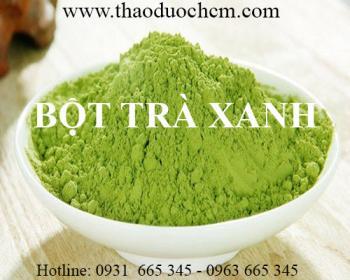 Mua bán bột trà xanh tại Sơn Tây có tác dụng làm sạch mụn đầu đen hiệu quả