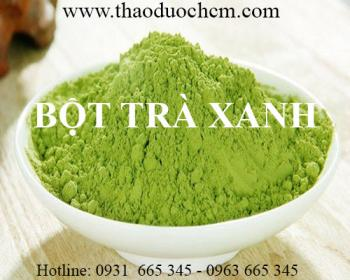 Mua bán bột trà xanh tại huyện Mê Linh giải độc, đào thải độc tố hiệu quả