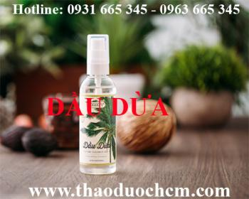 Mua bán dầu dừa tại huyện Đan Phượng có tác dụng kháng khuẩn trừ giun sán