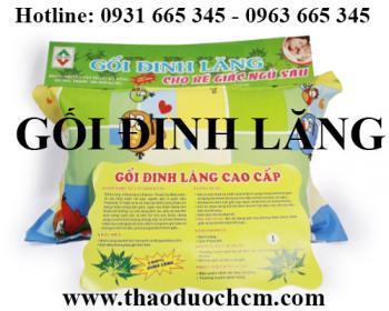 Mua bán gối lá đinh lăng tại huyện Thanh Oai có công dụng phòng mồ hôi trộm cho trẻ