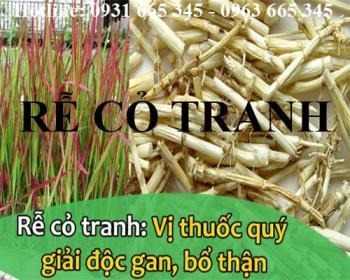Mua bán rễ cỏ tranh tại quận Thanh Xuân giúp giải độc gan an toàn nhất