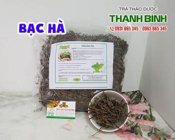 Mua bán bạc hà ở quận Tân Phú giúp điều trị nghẹt mũi và khó tiết mồ hôi