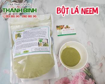 Mua bán bột lá neem ở quận Bình Thạnh giải cảm hạ sốt thanh nhiệt cơ thể