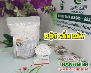 Mua bán bột sắn dây ở huyện Cần Giờ giúp chống lão hóa và thanh nhiệt
