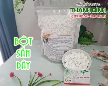 Mua bán bột sắn dây tại TPHCM uy tín chất lượng tốt nhất