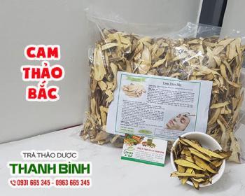 Mua bán cam thảo bắc ở huyện Hóc Môn giúp bổ phế trị ho long đờm rất tốt