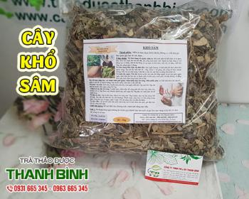Mua bán cây khổ sâm ở quận Gò Vấp giúp điều trị lở ngứa, viêm da ngoài