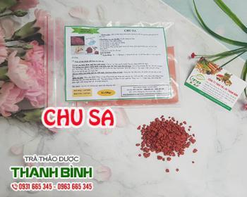 Mua bán chu sa ở huyện Củ Chi hỗ trợ trị đau họng và lở miệng do nóng