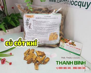 Mua bán củ cốt khí ở huyện Bình Chánh giúp điều trị đau bụng dưới rất tốt