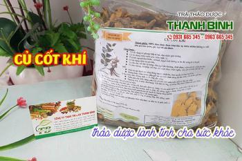 Mua bán củ cốt khí ở quận Phú Nhuận giúp điều trị đau nhức xương khớp