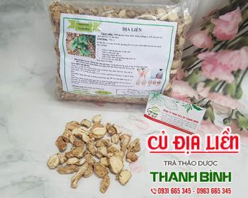 Mua bán củ địa liền ở quận Tân Phú giúp điều trị viêm dạ dày, khó tiêu