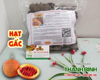 Mua bán hạt gấc ở huyện Bình Chánh giúp cầm máu và trị viêm xoang rất tốt