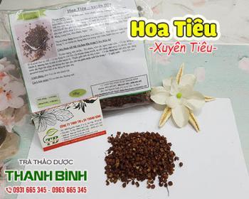 Mua bán hoa tiêu (xuyên tiêu) ở quận Phú Nhuận giúp nhuận phế, dịu đau họng