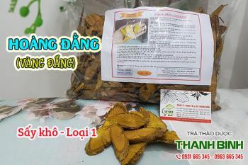 Mua bán hoàng đằng (vàng đắng) ở huyện Hóc Môn trị tiêu chảy, đau bụng