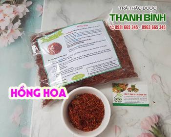 Công dụng của hồng hoa trong điều trị đau bụng kinh điều hòa kinh nguyệt