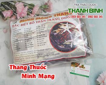 Mua bán thang thuốc Minh Mạng ở huyện Củ Chi hỗ trợ trị thận hư thận yếu