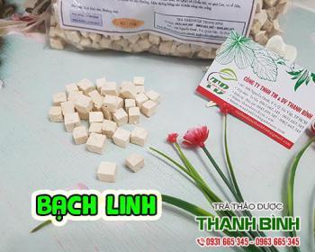 Mua bán bạch linh ở huyện Bình Chánh có tác dụng trị nám tàn nhang rất tốt