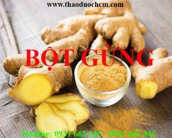 Mua bán bột gừng tại huyện Thường Tín rất tốt trong điều trị viêm nướu