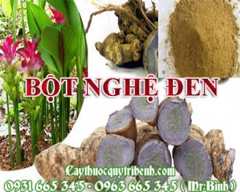 Mua bán bột nghệ đen tại quận Long Biên giúp kháng khuẩn an toàn nhất