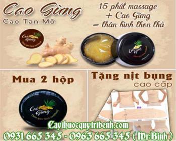 Mua bán cao gừng tại quận Long Biên giúp khử mùi hôi uy tín tốt nhất