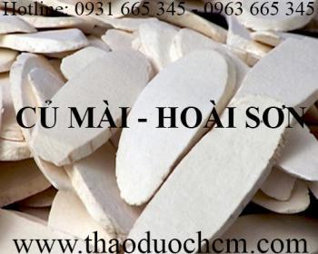 Mua bán hoài sơn tại Quảng Ninh có công dụng giúp bổ thận tráng dương
