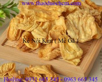 Mua bán kê nội kim (mề gà) tại Quảng Ninh chữa trị bệnh viêm đại tràng