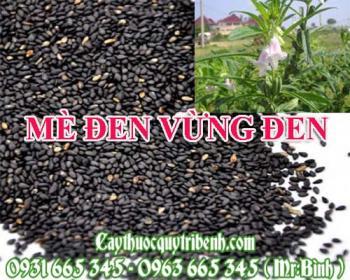 Mua bán mè đen vừng đen tại Trà Vinh có công dụng làm đen tóc an toàn