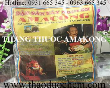 Mua bán thang thuốc Amakong tại huyện Quốc Oai giúp hỗ trợ điều trị ung thư phổi