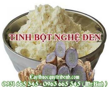 Địa chỉ bán tinh bột nghệ đen có công dụng giảm mờ vết sẹo tại Hà Nội uy tín nhất