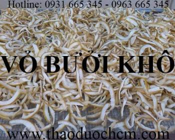 Mua bán vỏ bưởi khô tại Bắc Giang có công dụng giúp phục hồi tóc hư tổn