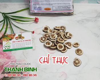Mua bán chỉ thực ở huyện Hóc Môn giúp điều trị ho có đờm và lợi tiểu