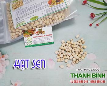 Mua bán hạt sen ở quận Tân Bình có tác dụng điều trị mất ngủ gây chán ăn