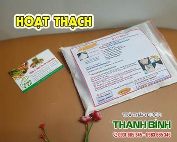 Mua bán hoạt thạch ở quận Tân Phú giúp điều trị sốt và cảm nắng hiệu quả