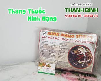 Mua thang thuốc Minh Mạng ở đâu tại TPHCM?