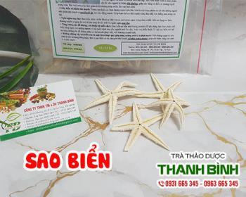 Mua bán sao biển tại quận Thanh Xuân rất tốt trong việc bồi bổ khí huyết