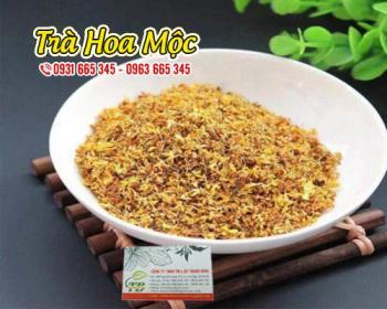 Mua bán trà hoa mộc ở quận Bình Tân giúp điều hòa đường huyết hiệu quả