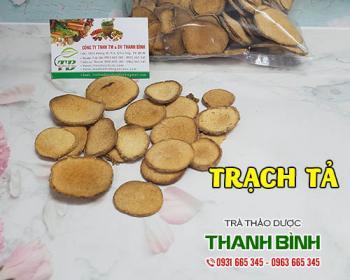 Mua bán trạch tả tại quận 6 có tác dụng ngăn ngừa táo bón và tiểu buốt