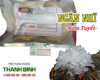 Mua bán ngân nhĩ ở quận Tân Bình giúp lợi tiêu hóa và nhuận phế rất tốt