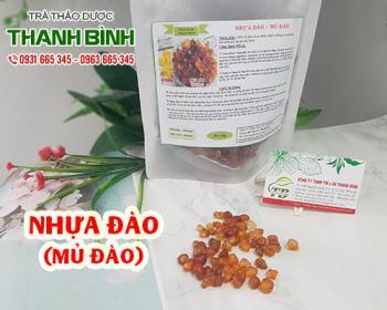 Mua bán nhựa đào (mủ đào) tại huyện Mê Linh giúp thanh nhiệt giải độc cơ thể