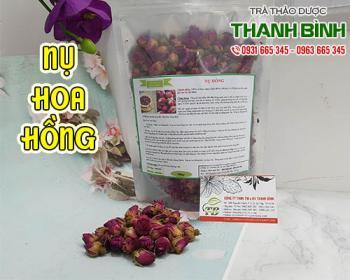 Mua bán nụ hoa hồng ở quận Tân Bình hỗ trợ điều trị ho, giúp nhuận phế