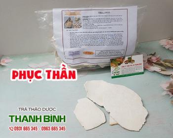 Mua bán phục thần ở quận Phú Nhuận giúp điều trị tức ngực và ngừa suy tim