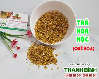 Mua bán trà hoa mộc tại huyện Ba Vì có tác dụng làm sạch khoang miệng