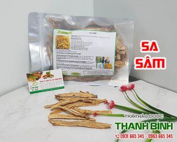 Mua bán sa sâm ở quận Bình Thạnh giúp bổ phế trị ho và cải thiện cơn sốt