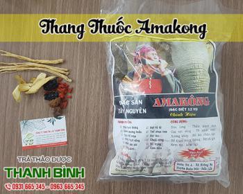 Thang thuốc Amakong giúp tăng cường sinh lực và ngăn ngừa bệnh tim mạch