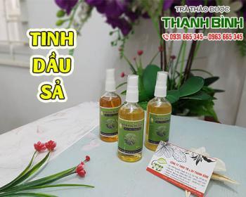 Mua bán tinh dầu sả ở quận Gò Vấp giúp trị cảm cúm, nghẹt mũi khó chịu