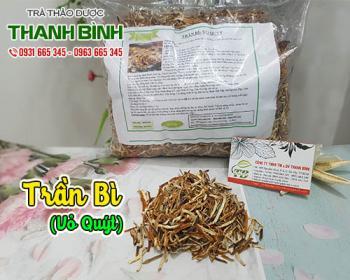 Mua bán trần bì ở quận Tân Phú giúp giảm ho, trị viêm phế quản rất tốt